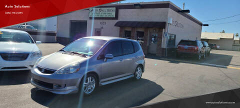 2008 Honda Fit for sale at Auto Solutions in Mesa AZ