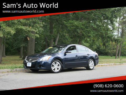2010 Nissan Altima for sale at Sam's Auto World in Roselle NJ