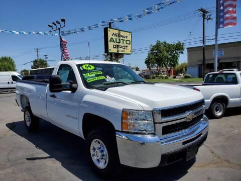 2009 Chevrolet Silverado 2500HD for sale at HILMAR AUTO DEPOT INC. in Hilmar CA