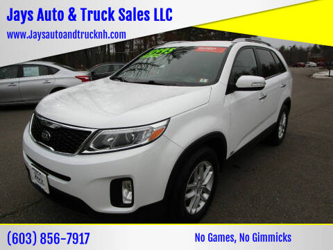 2014 Kia Sorento for sale at Jays Auto & Truck Sales LLC in Loudon NH