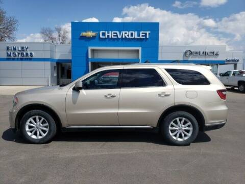2014 Dodge Durango for sale at Finley Motors in Finley ND