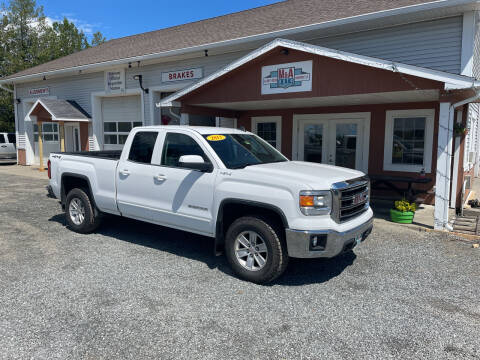 2015 GMC Sierra 1500 for sale at M&A Auto in Newport VT
