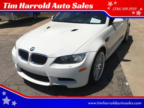 2008 BMW M3 for sale at Tim Harrold Auto Sales in Wilkesboro NC