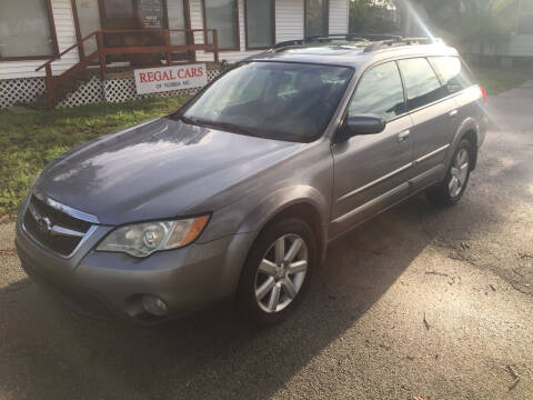 2008 Subaru Outback for sale at Regal Cars of Florida-Clearwater Hybrids in Clearwater FL