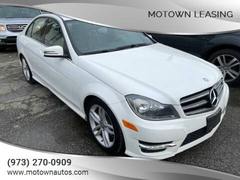 2014 Mercedes-Benz C-Class for sale at Motown Leasing in Morristown NJ