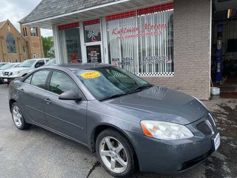 2007 Pontiac G6 for sale at KUHLMAN MOTORS in Maquoketa IA