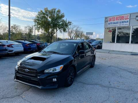 2020 Subaru WRX for sale at United Motors LLC in Saint Francis WI