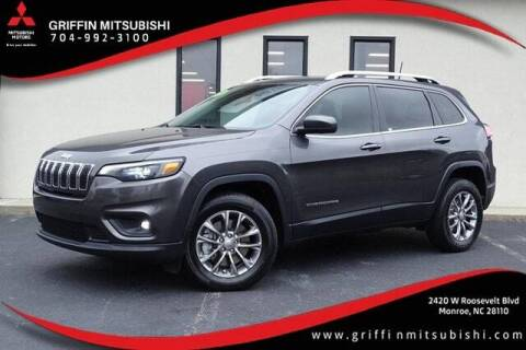 2019 Jeep Cherokee for sale at Griffin Mitsubishi in Monroe NC