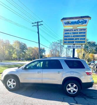 2011 GMC Acadia for sale at JEREMYS AUTOMOTIVE in Casco MI