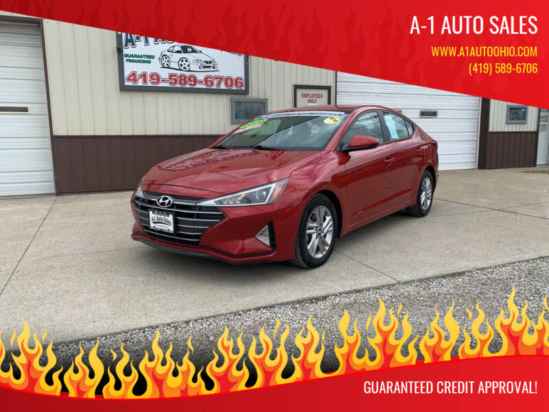 2020 Hyundai Elantra for sale at A-1 AUTO SALES in Mansfield OH