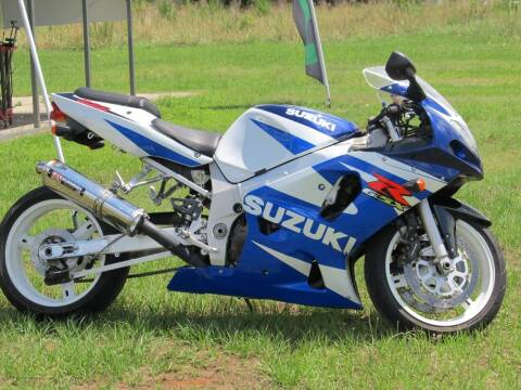 2001 Suzuki GSX-R600 for sale at Cycles Plus Inc in Garner NC