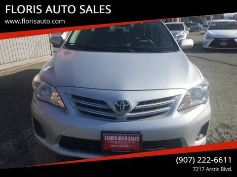 2013 Toyota Corolla for sale at FLORIS AUTO SALES in Anchorage AK