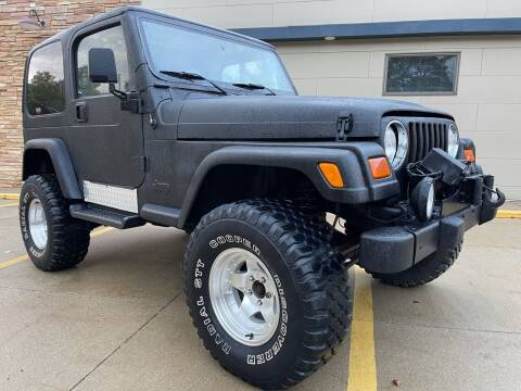 2001 Jeep Wrangler for sale at Prime Auto Sales in Uniontown OH