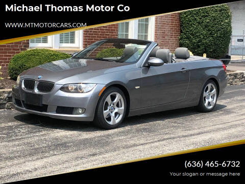 2008 BMW 3 Series for sale at Michael Thomas Motor Co in Saint Charles MO
