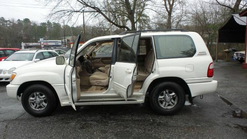 2002 Lexus LX 470 4WD 4dr SUV - Roswell GA