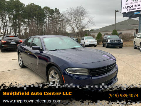 2015 Dodge Charger for sale at Smithfield Auto Center LLC in Smithfield NC