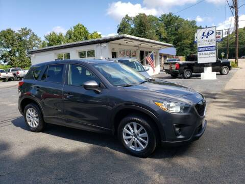 2014 Mazda CX-5 for sale at Highlands Auto Gallery in Braintree MA