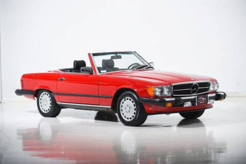 1988 Mercedes-Benz 560-Class for sale at Motorcar Classics in Farmingdale NY