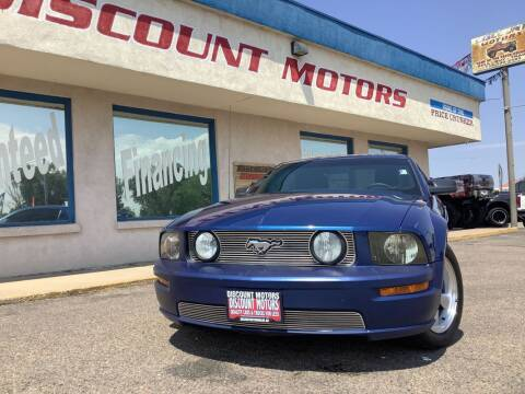 2007 Ford Mustang for sale at Discount Motors in Pueblo CO
