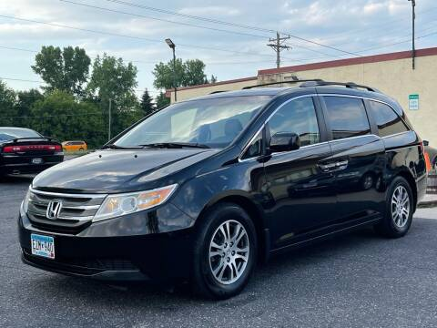 2012 Honda Odyssey for sale at North Imports LLC in Burnsville MN