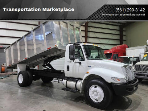 2013 International DuraStar 4300 for sale at Transportation Marketplace in West Palm Beach FL