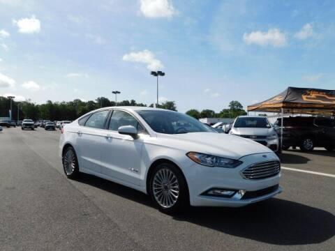 2018 Ford Fusion Hybrid for sale at Radley Cadillac in Fredericksburg VA