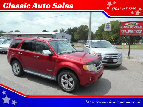 2008 Ford Escape for sale at Classic Auto Sales in Maiden NC