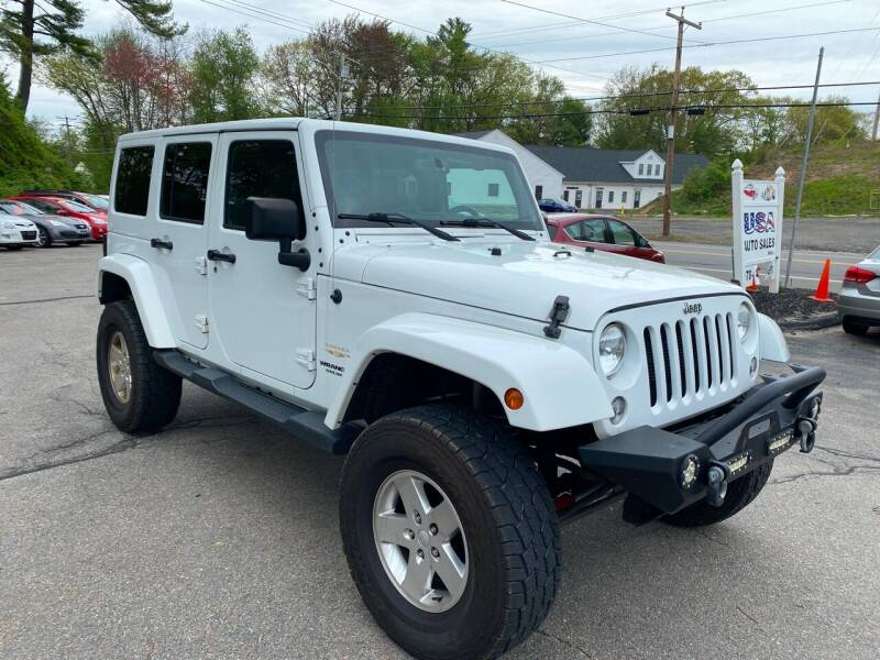 2015 Jeep Wrangler Unlimited for sale at USA Auto Sales in Leominster MA