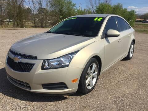 2012 Chevrolet Cruze for sale at McAllister's Auto Sales LLC in Van Buren AR