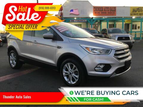 2017 Ford Escape for sale at Thunder Auto Sales in Sacramento CA