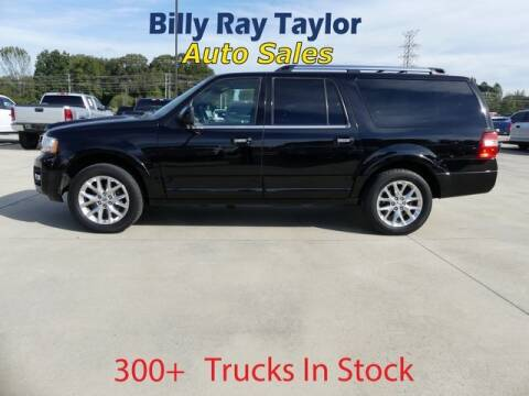 2017 Ford Expedition EL for sale at Billy Ray Taylor Auto Sales in Cullman AL