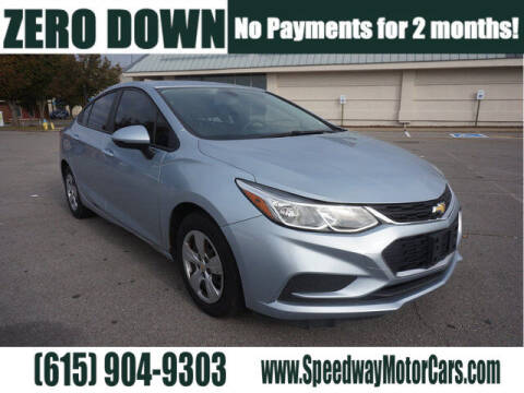 2017 Chevrolet Cruze for sale at Speedway Motors in Murfreesboro TN