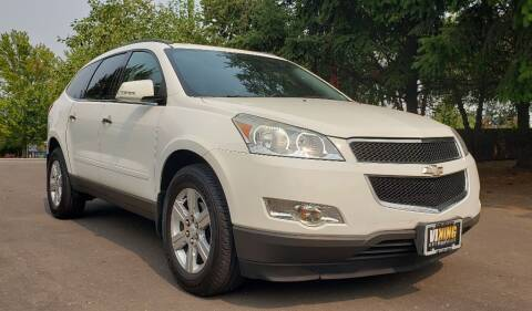 2012 Chevrolet Traverse for sale at VIking Auto Sales LLC in Salem OR