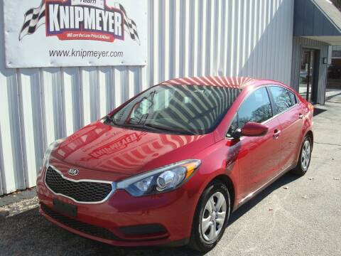 2016 Kia Forte for sale at Team Knipmeyer in Beardstown IL
