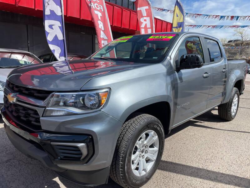 2021 Chevrolet Colorado for sale at Duke City Auto LLC in Gallup NM