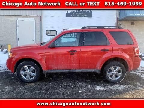 2009 Ford Escape for sale at Chicago Auto Network in Mokena IL