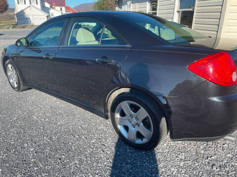2010 Pontiac G6 for sale at CESSNA MOTORS INC in Bedford PA