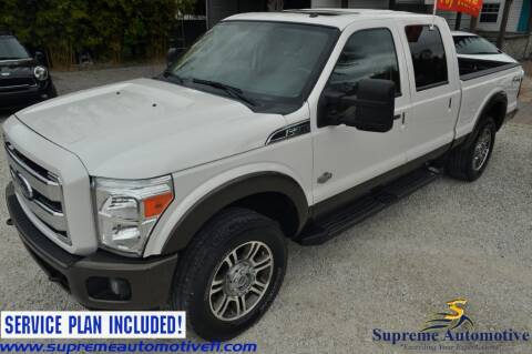 2015 Ford F-250 Super Duty for sale at Supreme Automotive in Land O Lakes FL