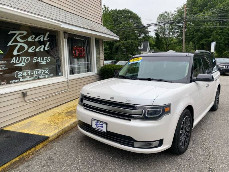 2015 Ford Flex for sale at Real Deal Auto Sales in Auburn ME