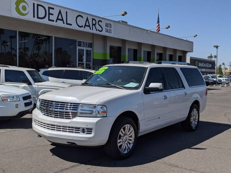 2014 Lincoln Navigator L for sale at Ideal Cars Broadway in Mesa AZ