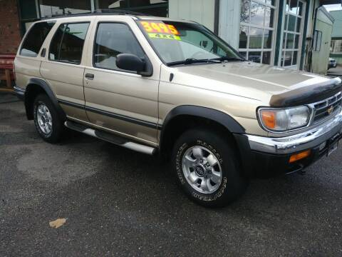 1998 Nissan Pathfinder for sale at Low Auto Sales in Sedro Woolley WA