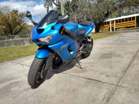 2006 Kawasaki Ninja ZX-6R for sale at Unique Motors of Tampa in Tampa FL