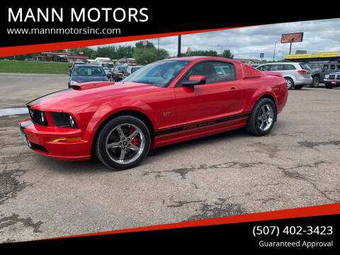 2006 Ford Mustang for sale at MANN MOTORS in Albert Lea MN