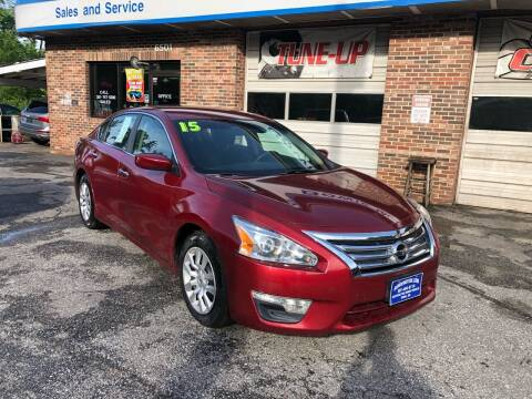 2015 Nissan Altima for sale at Bowie Motor Co in Bowie MD