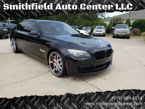 2012 BMW 7 Series for sale at Smithfield Auto Center LLC in Smithfield NC