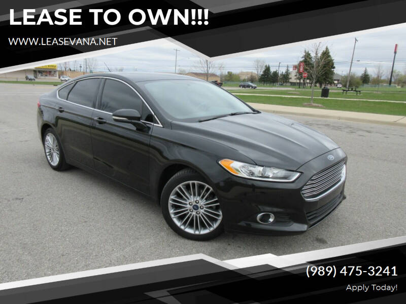 2014 Ford Fusion for sale at LeaseVana in Saginaw MI