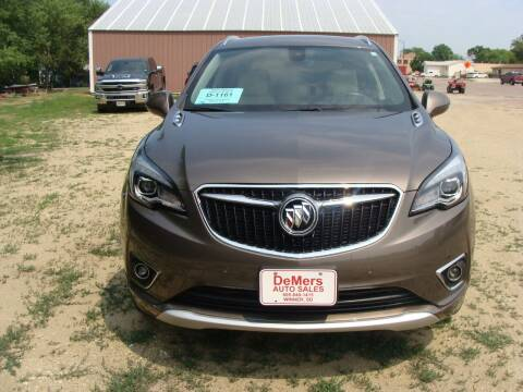 2019 Buick Envision for sale at DeMers Auto Sales in Winner SD