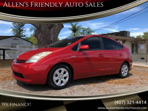 2007 Toyota Prius for sale at Allen's Friendly Auto Sales in Sanford FL