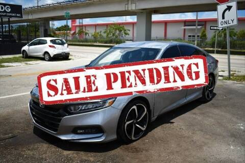 2020 Honda Accord for sale at STS Automotive - Miami, FL in Miami FL