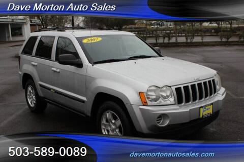 2007 Jeep Grand Cherokee for sale at Dave Morton Auto Sales in Salem OR
